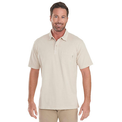 Woolrich First Forks 1-Pocket Polo Mens Shirt, Burnt Orange, viewer