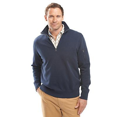 Woolrich Standing Stone Half Zip Mens Sweater, , viewer