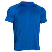 Under Armour Tech Short Sleeve Mens T-Shirt, Ultra Blue-X Ray, medium
