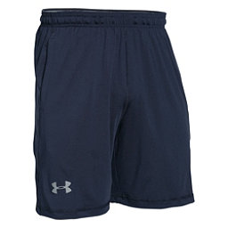 Under Armour Raid 8inch Mens Shorts, Midnight Navy-Steel, 256