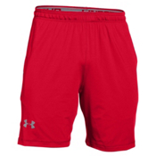 Under Armour Raid 8inch Mens Short, Red-Steel, medium