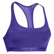 Under Armour Breathe Womens Sports Bra, Deep Orchid, medium
