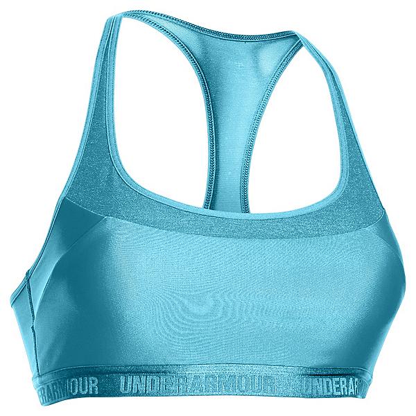 Under Armour Breathe Womens Sports Bra, Sky Blue, 600