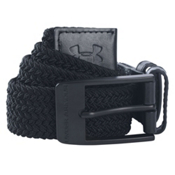 Under Armour Braided Belt, Black, medium