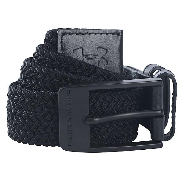 Under Armour Braided Belt, Black, 600