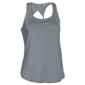 Under Armour Fly-By 2.0 Womens Tank Top, Steel-Steel-Reflective, medium