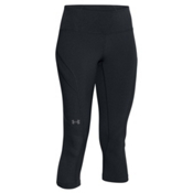 Under Armour ArmourVent Womens Trail Pant, Black-Glacier Gray, medium