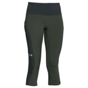 Under Armour ArmourVent Trail Womens Pants, Combat Green-Glacier Gray, medium