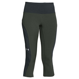 Under Armour ArmourVent Womens Trail Pant, Combat Green-Glacier Gray, 256