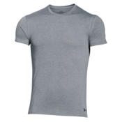 Under Armour Core Crew 2-Pack Mens T-Shirt, True Gray Heather-Black, medium