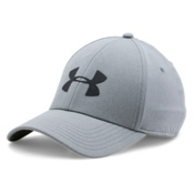 Under Armour CoolSwitch Training Hat, Steel-Black, medium