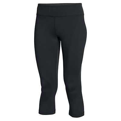 Under Armour Mirror Capri Womens Pant, Black-Silver, viewer
