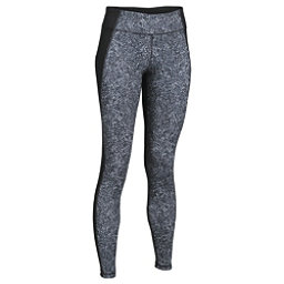 Under Armour Mirror Printed Leggings, Black-Black-Silver, 256