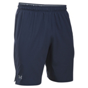 Under Armour Qualifier Mens Short, Midnight Navy-Steel, medium