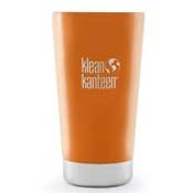 Klean Kanteen 16oz Kanteen Insulated Tumbler, Canyon Orange, medium