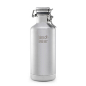 Klean Kanteen 32oz. Lok Cap Growler Insulated Water Bottle 2017, Brushed Stainless, medium