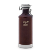 Klean Kanteen 32oz. Lok Cap Growler Insulated Water Bottle 2017, Dark Amber, medium