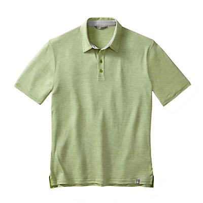 SmartWool Fish Creek Solid Polo Mens Shirt, , viewer