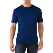 SmartWool Fish Creek Solid Mens T-Shirt, Deep Navy, medium