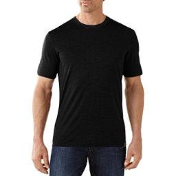 SmartWool Fish Creek Solid Mens T-Shirt, Black, 256