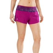 SmartWool PhD Womens Shorts, Berry, medium