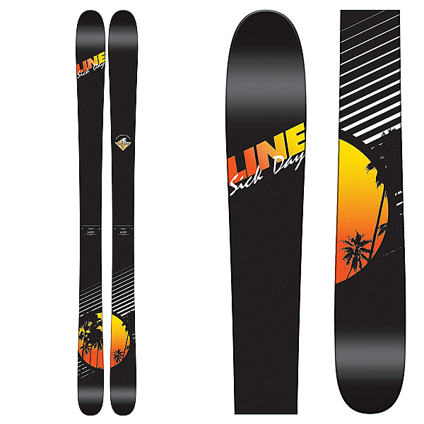 Line Sick Day 95 Skis 2017, , 600