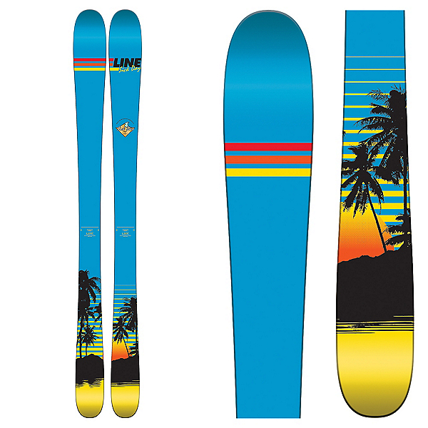 Line Sick Day Shorty Kids Skis 2017, , 600