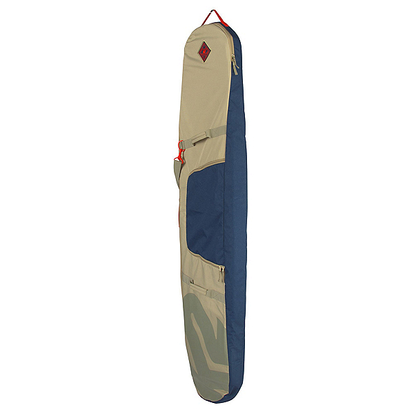 K2 Padded Board Bag Snowboard Bag, Blue-Tan, 600
