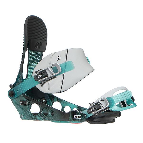 K2 Lien FS Snowboard Bindings, Mineral, 600