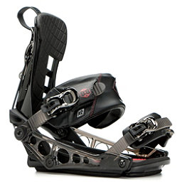 K2 Cinch TS Snowboard Bindings, Black, 256