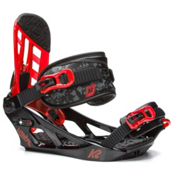 K2 Vandal Kids Snowboard Bindings 2017, Black, medium