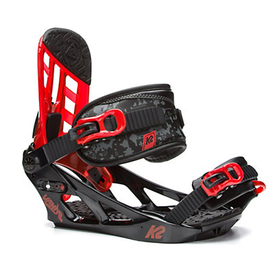 K2 Vandal Kids Snowboard Bindings 2017, Black, viewer