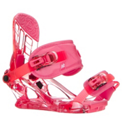 K2 Kat Girls Snowboard Bindings, Berry, medium