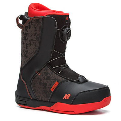 K2 Vandal Kids Snowboard Boots 2018, Black, viewer