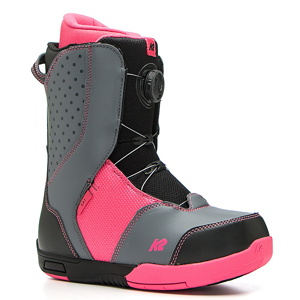K2 Kat Girls Snowboard Boots 2017, Black, 600