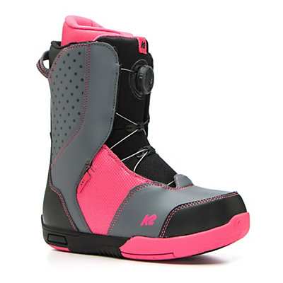 K2 Kat Girls Snowboard Boots 2017, Black, viewer