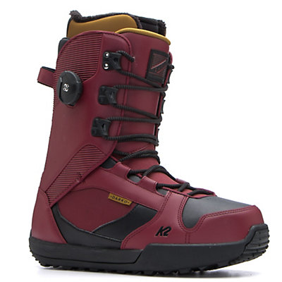 K2 Darko Snowboard Boots 2017, Crimson, viewer