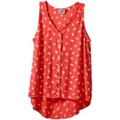 KAVU Beryl Womens Shirt, Firewater, medium