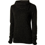 KAVU Sweetie Womens Sweater, Black, medium