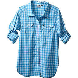 KAVU Wynonna Womens Shirt, River Blue, 256