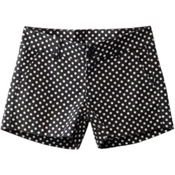 KAVU Catalina Womens Shorts, Black Dots, medium