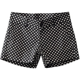 KAVU Catalina Womens Shorts, Black Dots, 256