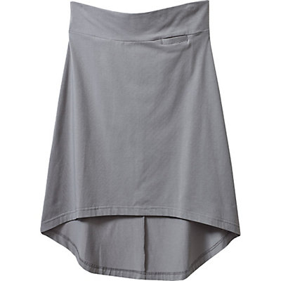 KAVU Stella Womens Skirt, Grey, viewer