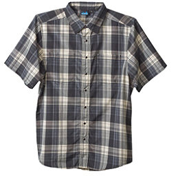 KAVU Benjamin Mens Shirt, Black Smoke, 256