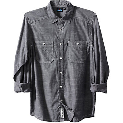 KAVU Charlestown Mens Shirt, Navy, viewer