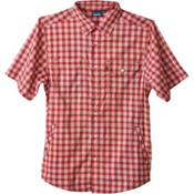 KAVU Hudson Mens Shirt, Brick, medium