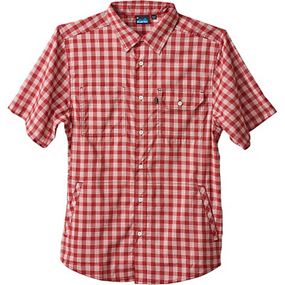 KAVU Hudson Mens Shirt, Brick, viewer