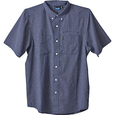 KAVU Marshall Mens Shirt, Navy, viewer