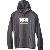 KAVU Klassic Mens Hoodie & Sweatshirt, Graphite, medium