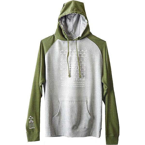 KAVU Klassic Mens Hoodie, Military Green, 600